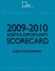 Executive Summary - 2009 - CFED