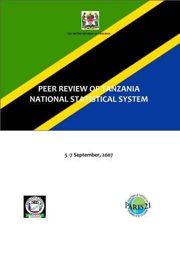 Peer Review of Tanzania National Statistical System - Paris21