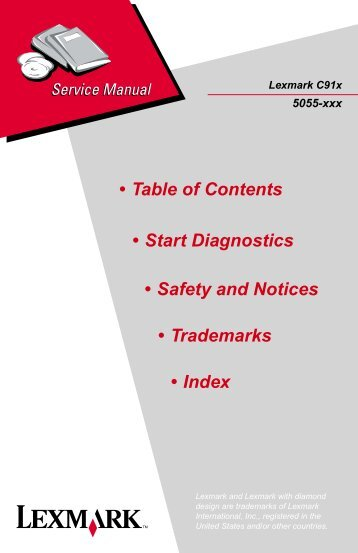 Lexmark-c752 printer service repair manual | copiers technology news.