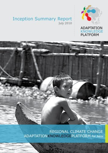 Inception Summary Report - Regional Climate Change Adaptation ...