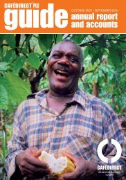 Annual Report 2005-2006 - Cafedirect