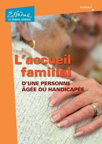 Qui peut devenir accueillant familial - Conseil Général de l'Essonne