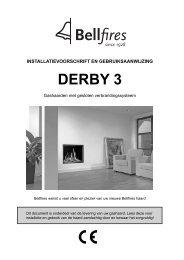 Gebruiksaanwijzing Bellfires Derby 3 - UwKachel