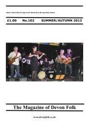 What's Afoot - Devon Folk