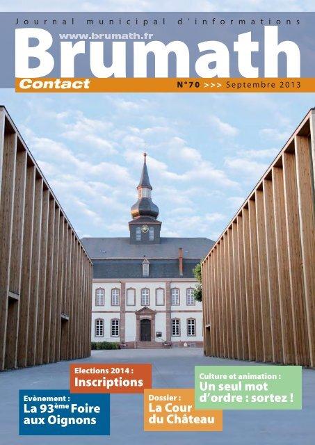 n° 70 de septembre - Brumath