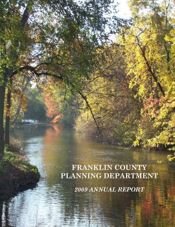 The Franklin County Planning Department provides staff support ...