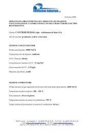 Riconcentratore Baia - Ventilazione Industriale