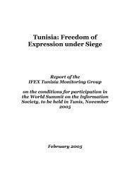 Freedom of Expression Under Siege - World Press Freedom ...