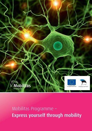 Mobilitas Programme – Express yourself through mobility