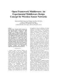 Open Framework Middleware