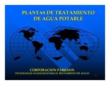plantas de tratamiento de agua potable - Soluciones Virtuales