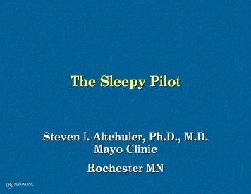 The Sleepy Pilot