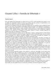 Giuanni Lilliu: « Sentidu de libbertade » - Sotziu Limba Sarda