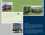 Download the Landscape Requirement Guide - Dublin City, Ohio