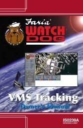 VMS Tracking - Faria WatchDog Inc.