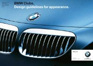 BMW Clubs. Design guidelines for appearance. - BMW Motorcycle ...