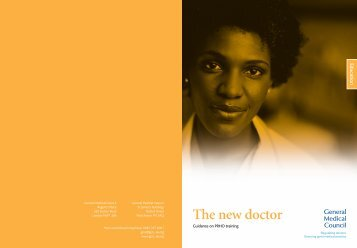 The New Doctor (2005) - General Medical Council