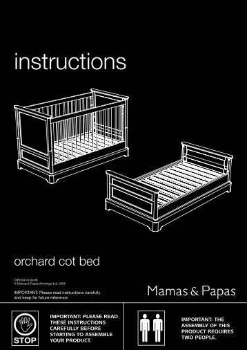 Mamas And Papas Under Cot Bed Storage