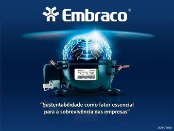 Sustentabilidade e sobrevivencia das organizacoes.pdf - Embraco
