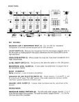CD Mix 7032A Professional DJ Mixer Owner's Manual - Peavey - Page 4