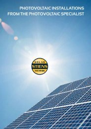 Photovoltaic iNStallatioNS FRoM thE Photovoltaic ... - Solar-Bazaar