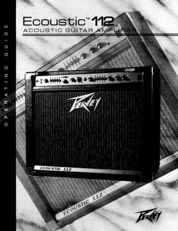 Ecoustic 112 Acoustic Guitar Amp - Peavey