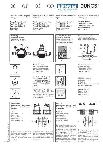 0 BMA DMV1/2-2 D/GB/F/I