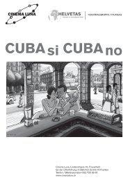 CUBA si CUBA no - Helvetas