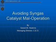 Catalyst Catastrophes II - Gbhenterprises.com