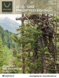 Jagdkatalog - Wild & Wald