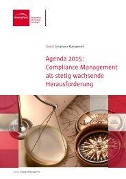 Compliance Management als stetig wachsende Herausforderung