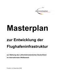 Nationaler Masterplan zur Entwicklung der Flughafeninfrastruktur