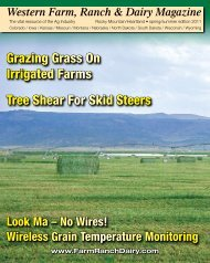 Tree Shear For Skid Steers Grazing Grass On Irrigated Farms