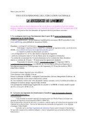 LA RECHERCHE DE LOGEMENT juin 2012 - Inspection ...