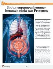 Protonenpumpenhemmer hemmen nicht nur Protonen - Cogito ...
