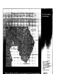Report of the Second Ecotourism Trial Run,Masoala Peninsula ...