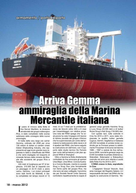 Arriva Gemma - Porto & diporto