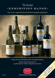 Exhibition RANGE - The Wine Society