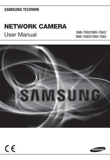 User Manual-SNB-7002-ENGLISH_Web.indb - Samsung
