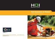 Rail Generators & Welders - HGI Generators