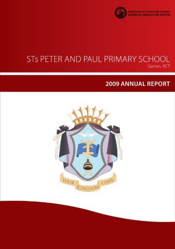 our School - Sts Peter and Paul Primary School