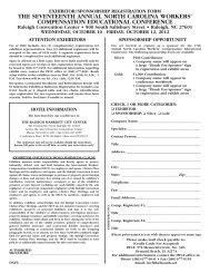 Exhibitor/Sponsor Registration Form