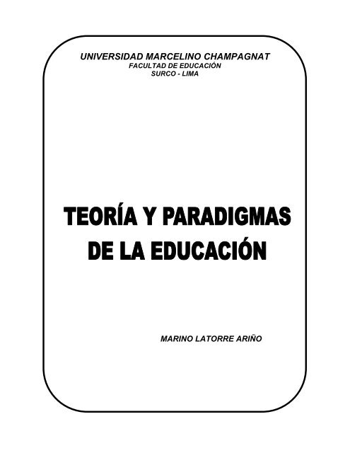 C Eje Profesor Alumno Universidad Marcelino Champagnat