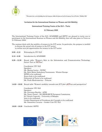 invito 21 febbraio - Pari Opportunità in Provincia di Venezia