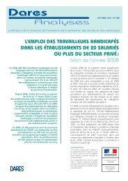 2010-068 - L'emploi des travailleurs handicapés dans les ...
