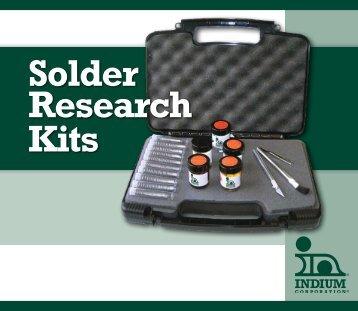 Solder Research Kit Brochure - E-Tronics