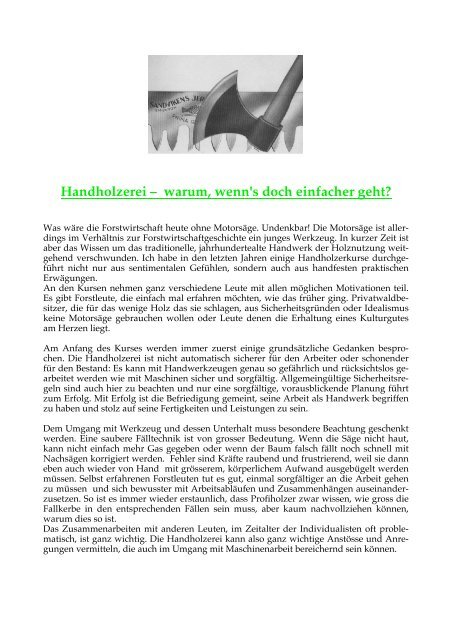 Beschreibung (PDF) - Bergwaldprojekt