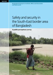 Safety and security in the South-East border area of ... - Saferworld