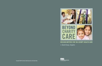 Beyond Charity Care - Association for Community Health Improvement