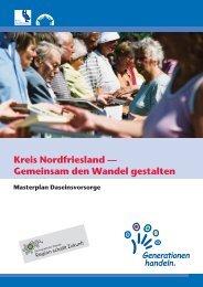 Masterplan Daseinsvorsorge - Kreis Nordfriesland